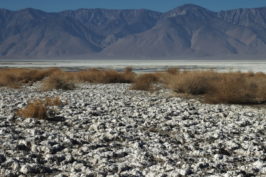 Owens Lake. Photograph by Alan Levine.