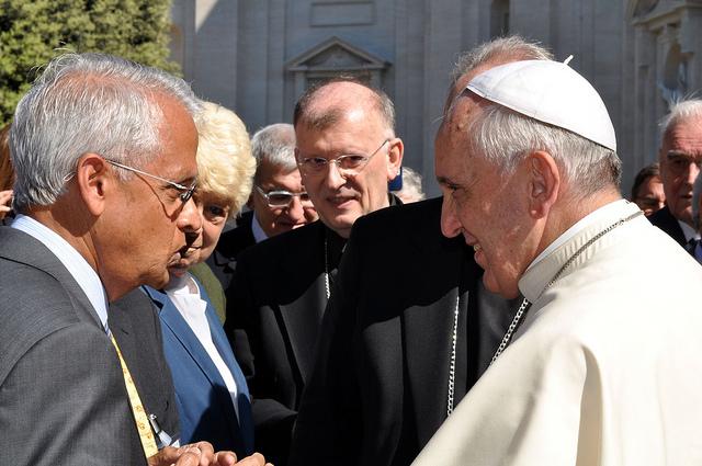 Photograph by Gabriella Marino/Vatican.