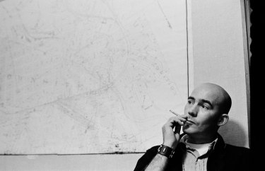 Photograph of Hunter S. Thompson by David Hiser.
