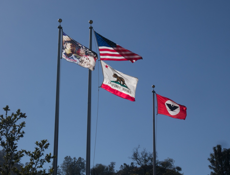 César Chávez National Moument (NPS) Flags