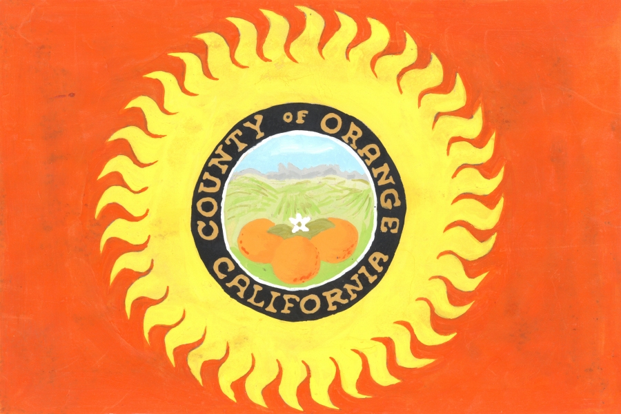 Orange County flag design, 1968