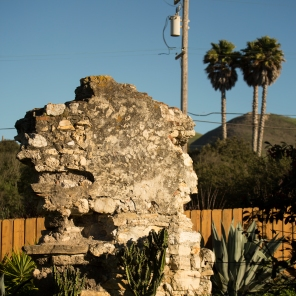 Now surrounded by a modern neighborhood subdivision, portions of the original La Purisima Mission.