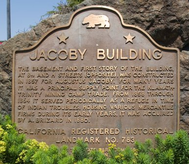 Jacoby Plaque