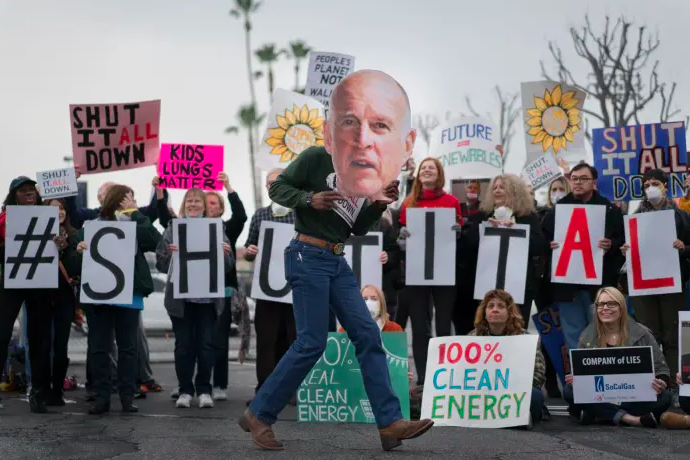 Porter Ranch Protest