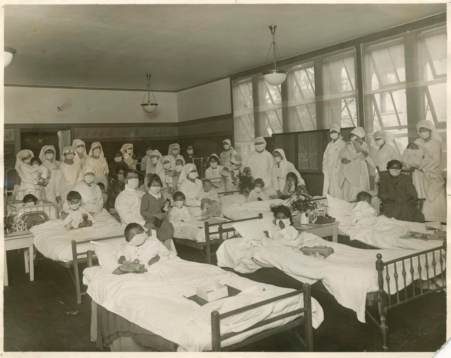 CH_97_03_North_Fig_14-Childrens Ward San Jose Convalescent Hospital Courtesy of History San Jose